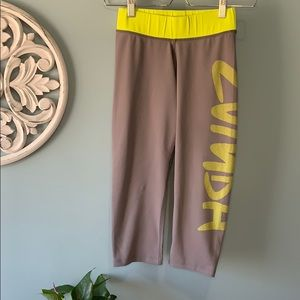 Zumba crop leggings